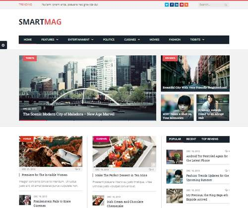 SmartMag - Журнальная тема WordPress