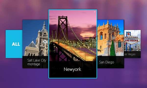 Cover Flow Галерея изображений