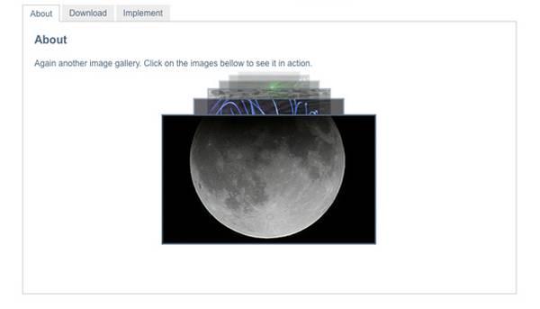 Spacegallery - 3D Слайдер изображений