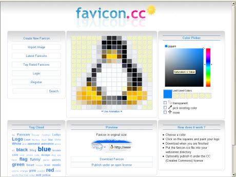 бесплатный онлайн-генератор иконок