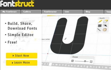 Создание шрифтов онлайн