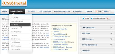 Онлайн ресурсы CSS