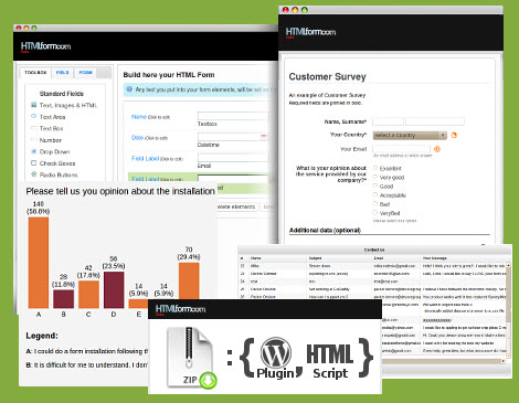 Онлайн генератор HTML-форм
