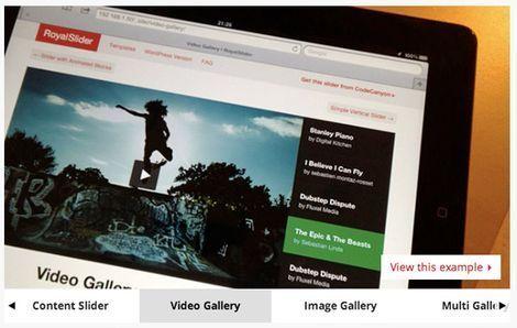 Слайдеры изображений WordPress