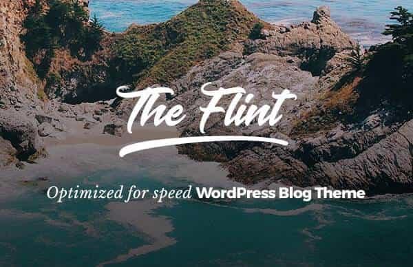 Flint - Оптимизированная Тема WordPress