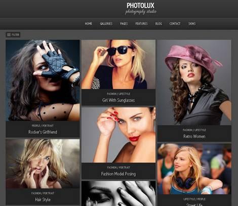 Photolux - Тема WordPress
