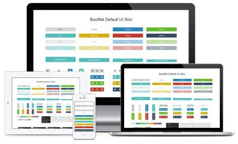 Bootflat - Бесплатные наборы элементов интерфейса