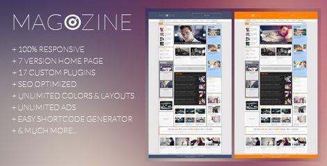 Magazine - журнальная тема WordPress