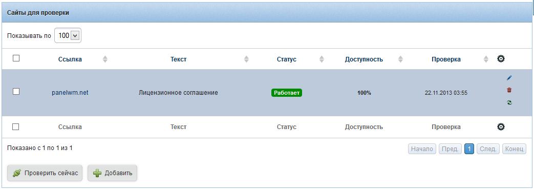 PanelWM - Панель для веб-разработчиков
