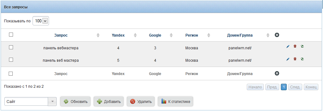 PanelWM - скрипт для веб-разработчиков
