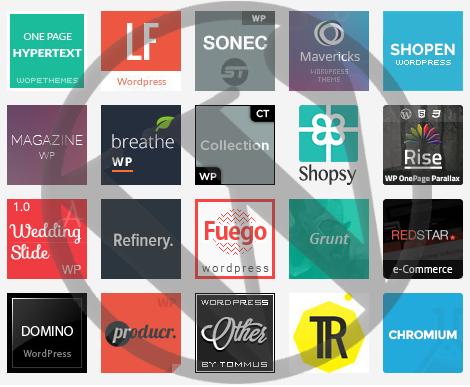 Новинки премиум тем WordPress за ноябрь 2013