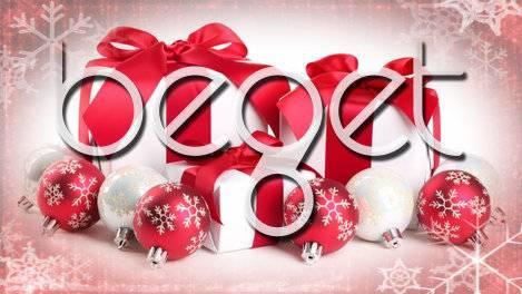 Новогодние подарки от хостинг-провайдера Beget