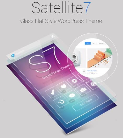 Satellite 7 - эффектная тема WordPress