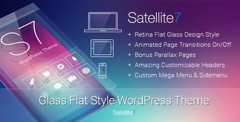 SATELLITE7 - Многоцелевая тема WordPress