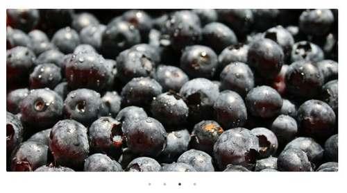 Blueberry - простой адаптивный слайдер