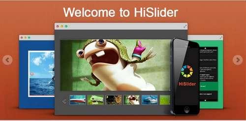 HiSlider - Адаптивный слайдер и галерея изображений