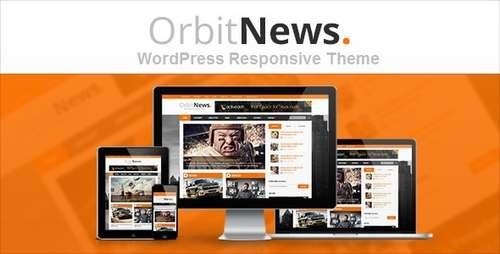 Orbit News Блоговая тема в журнальном стиле