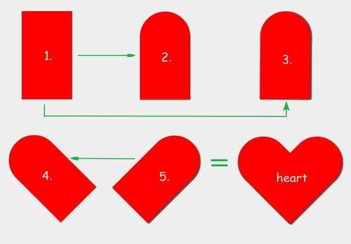 Рисуем сердце с помощью CSS