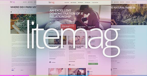 LiteMag - журнальная тема для блогов WordPress