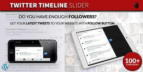 Twitter Timeline Slider