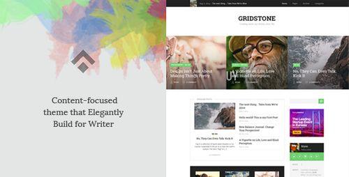Gridstone - Элегантная тема для блогов WordPress