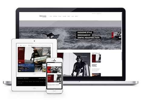 Oblivion - Журнальная тема WordPress