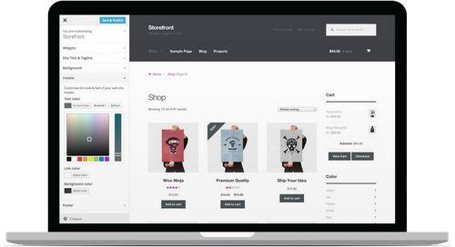 Storefront - Новая бесплатная тема WordPress