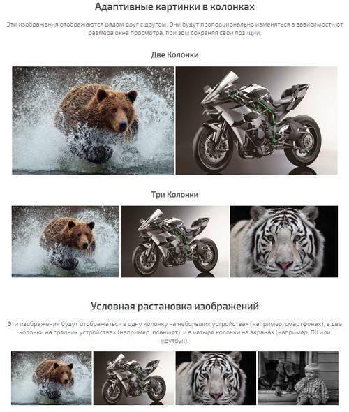 Адаптивные изображения с помощью CSS
