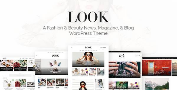 LOOK - Новая тпремиум тема WordPress