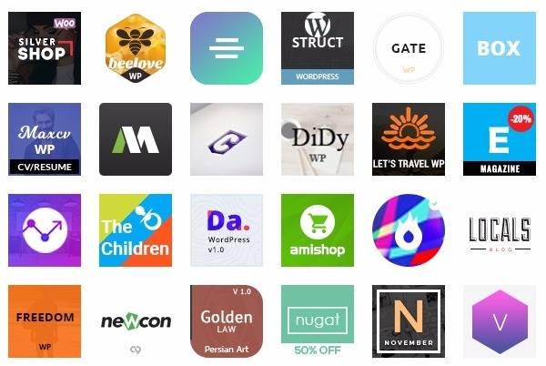 Топ-20 Новые премиум темы WordPress на Themeforest
