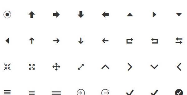 Иконочный шрифт Ionicons