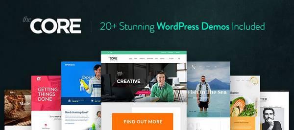 Core - Многоцелевая WordPress Тема