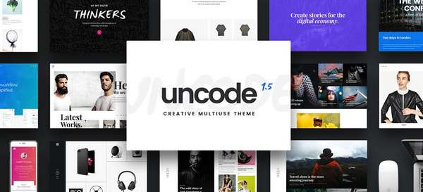 Uncode - Тема для многопользовательского WordPress