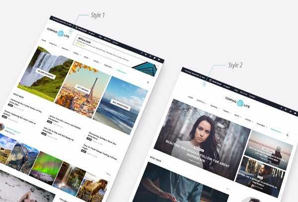 IonMAG - Новостная премиум тема WordPress