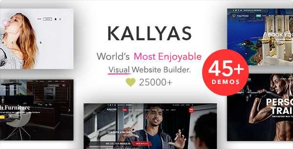KALLYAS - Многопользовательская тема WordPress eCommerce