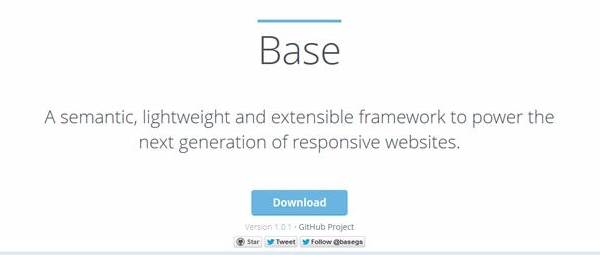 Base - Семантический фреймворк CSS