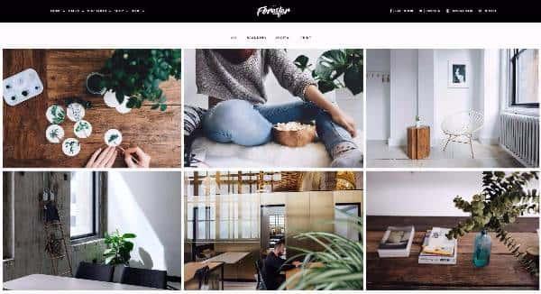 Forester - Творческая тема WordPress