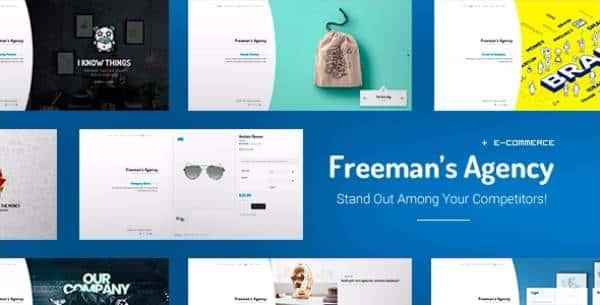 Freeman - Креативная тема WordPress