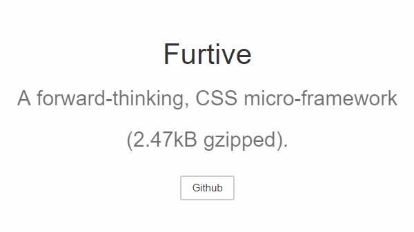 Furtive CSS-Фреймворк