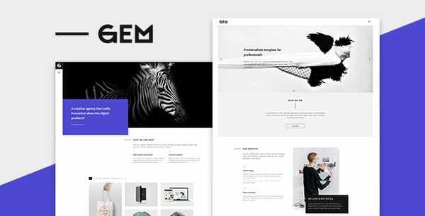 Gems - Многоцелевая тема WordPress