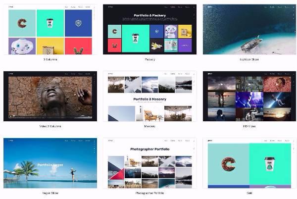 Plexx - креативная тема WordPress