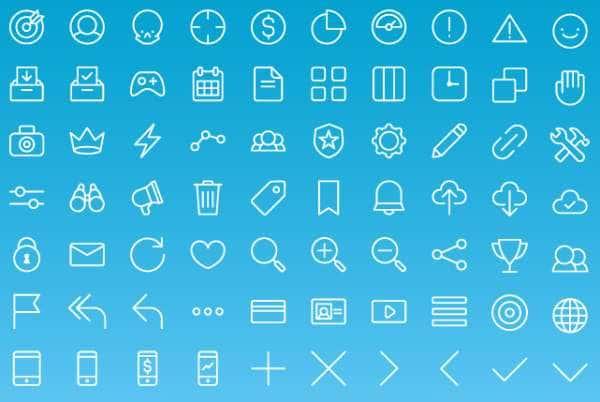 70 бесплатных иконок
