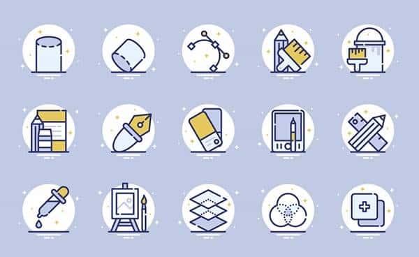 Иконоки из категории дизайн фигур