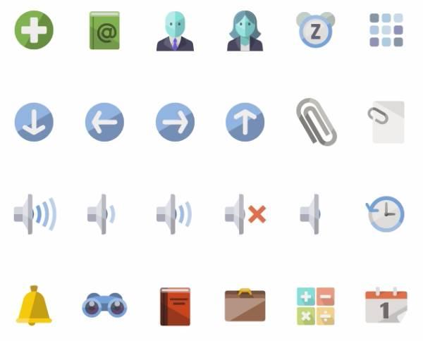 Iconshock flat icons