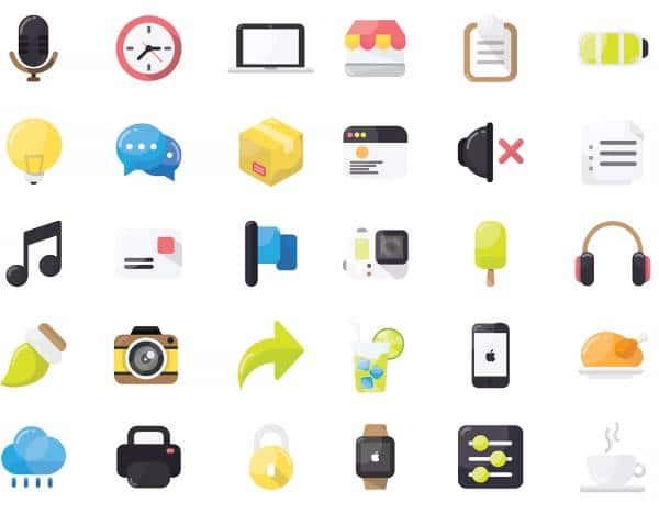 30 Иконок для рабочего пространства