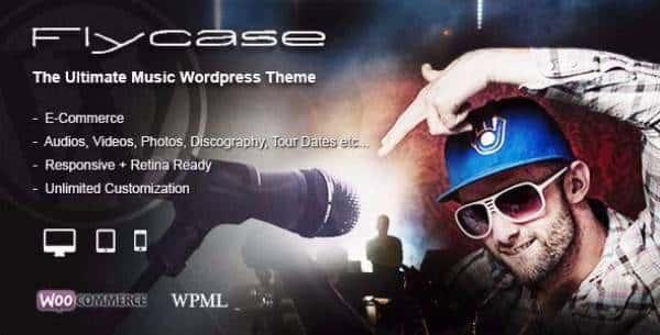Flycase - Абсолютное музыкальное решение для WordPress