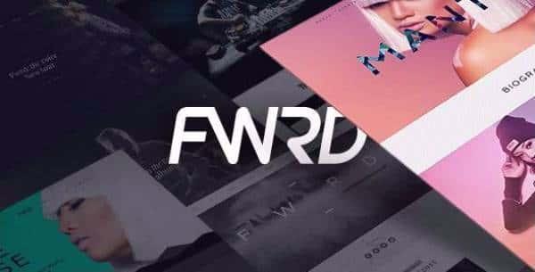 FWRD - Музыкальная WordPress тема