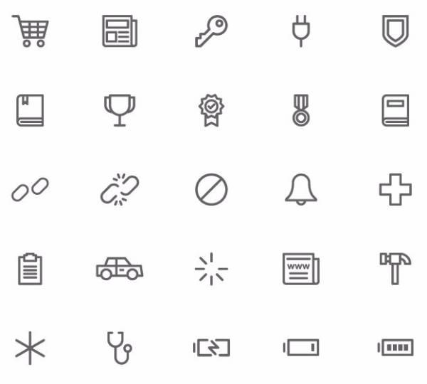 Universal Themes - Набор векторных иконок