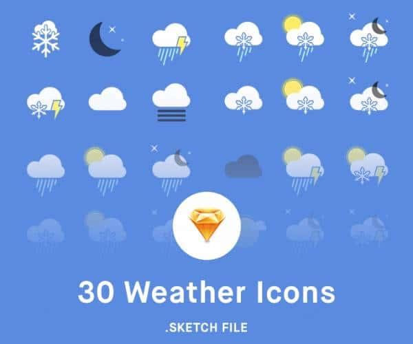 Пакет погодных иконок