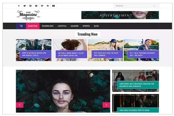 Magazine Base - мощная и стильная тема WordPress